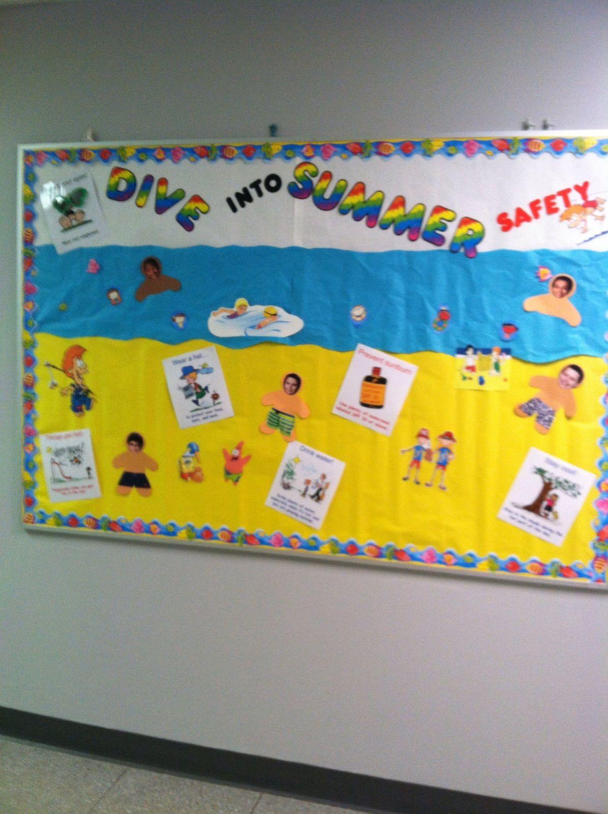 Nurse S Swimming Bulletin Board