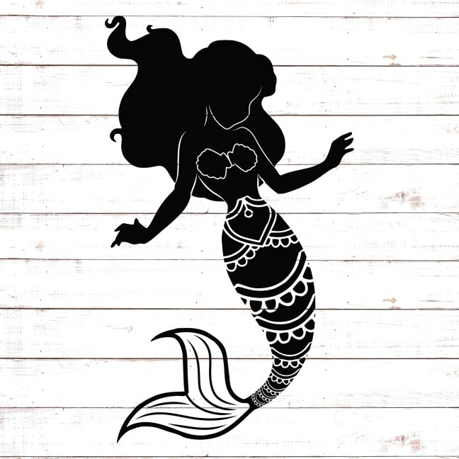 Download Mermaids Archives - Free SVG files | HelloSVG.com ...