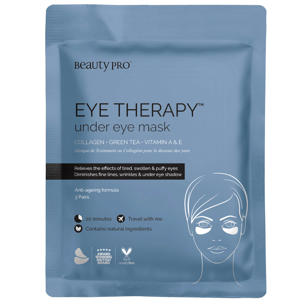 Photo of BeautyPro Eye Therapy Under Eye Mask with Collagen and Green Tea Extract (3 Applications)