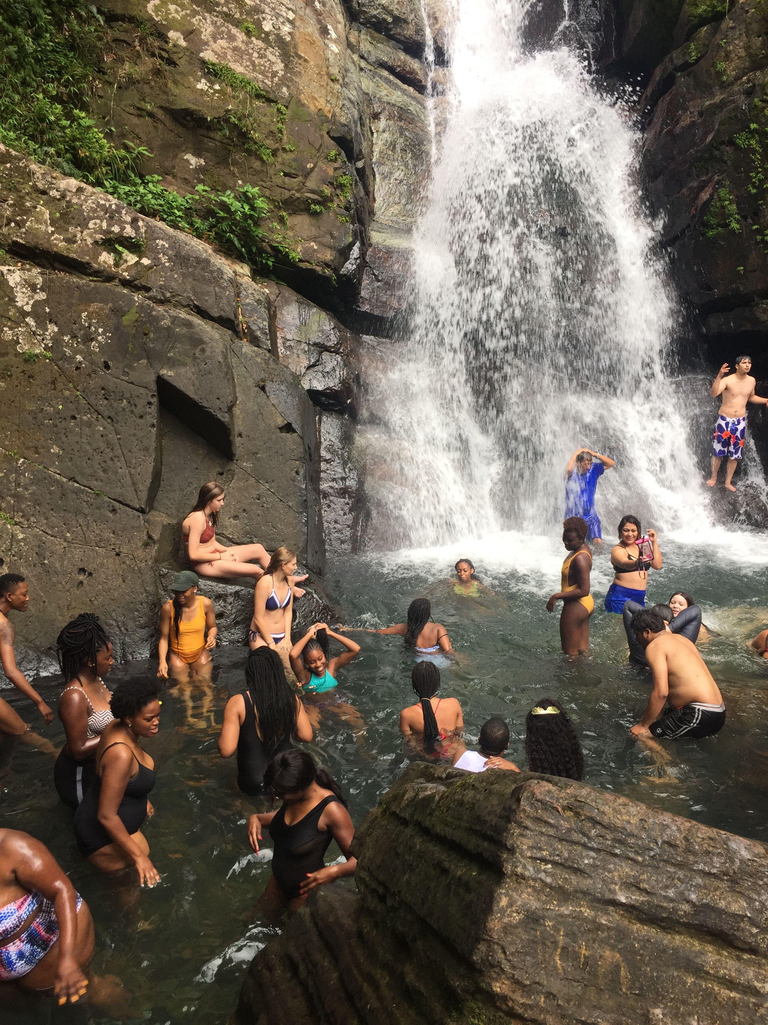 La Mina Falls Puerto Rico Swim Spot #Tour #Puertorico #Elyunquerainforest