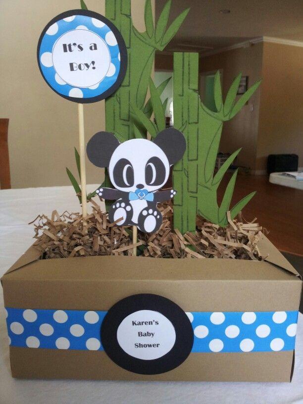Panda Baby Shower Centerpiece