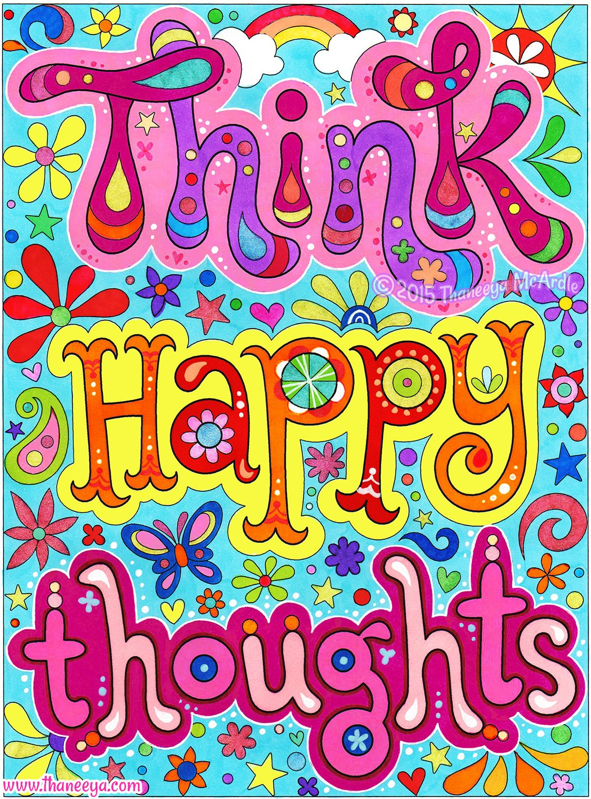 Lilly Pulitzer Quotes Wallpaper Think Happy Thoughts This Is A Page From My Good Vibes
