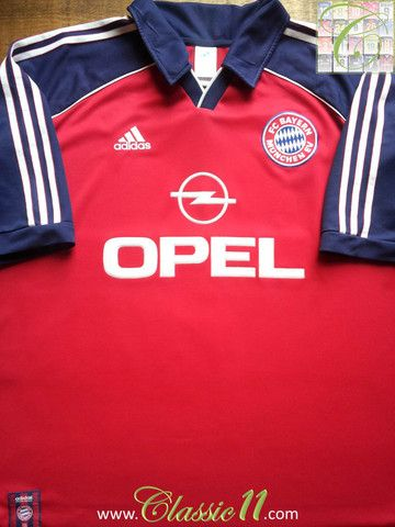 Relive Bayern Munich s 2000 2001 season with this vintage Adidas home  football shirt. ff530397f0f