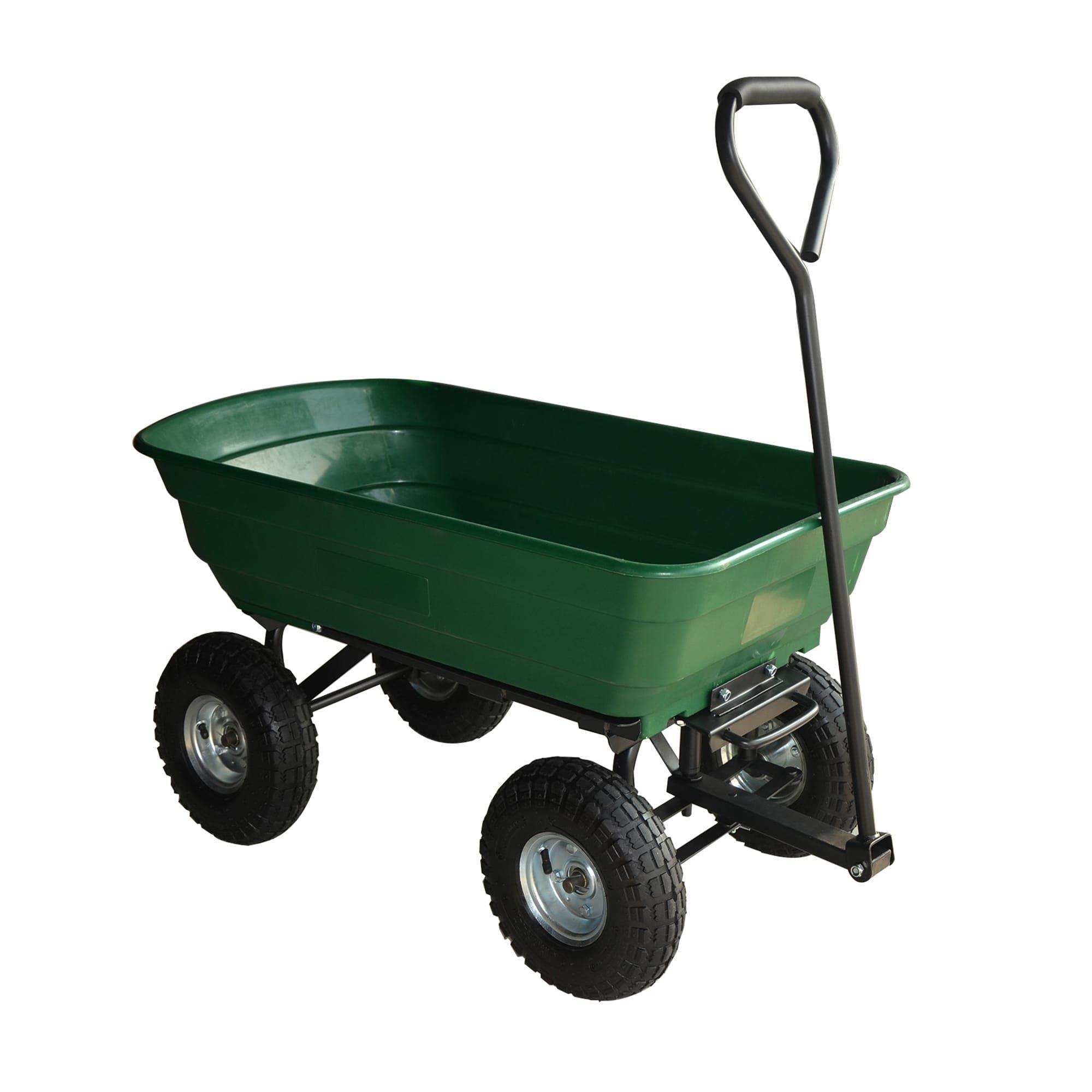 Sontax Garden Dump Cart, Green, Gardening | Products