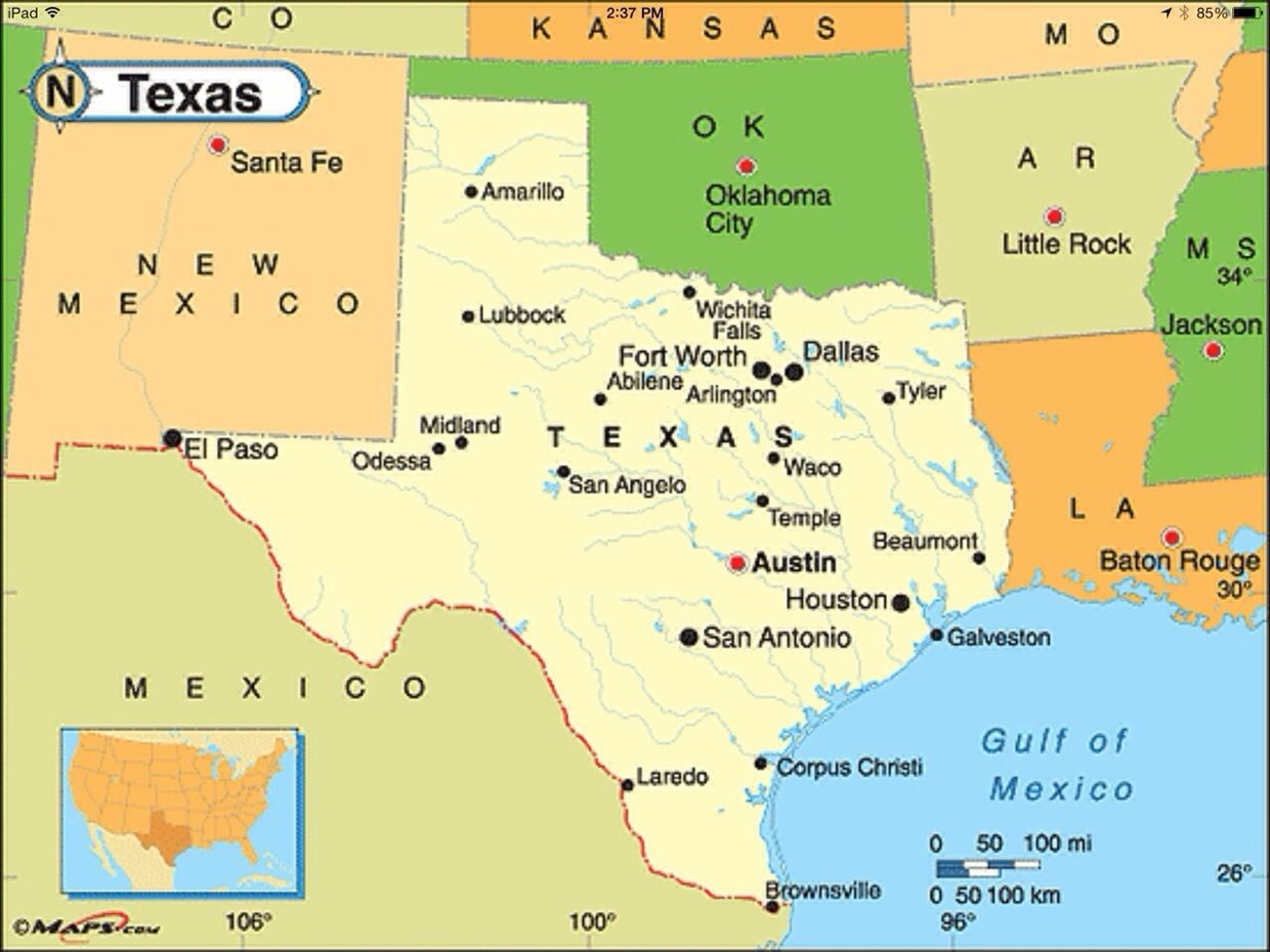 Map Of Texas San Antonio.Image Result For Texas Political Map Texas Energy News Energy