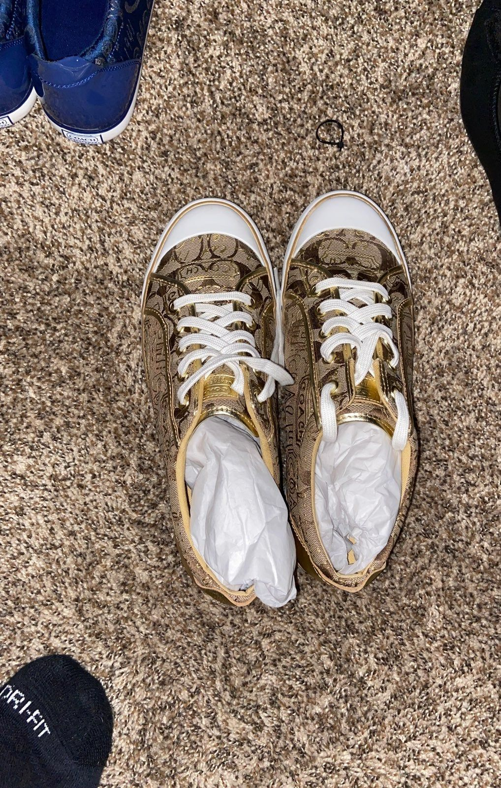 Coach tennis shoes, Coach fashion