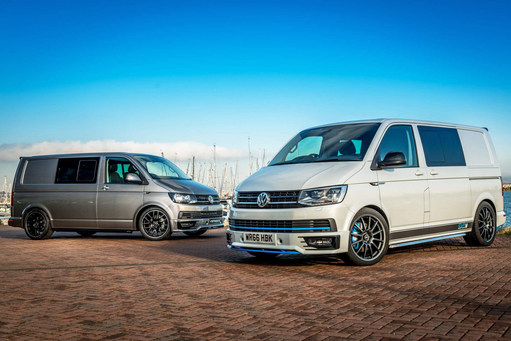 Van Conversions With VW Transporter Styling From Vanworx Pioneering Sporty Modifications All Handmade Are