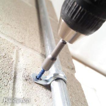 Caulking Concrete Cracks Home repair, Garage floor