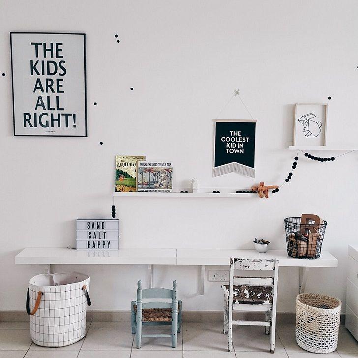 Estilo escandinavo en el cuarto de juegos juego for Habitacion infantil nordica