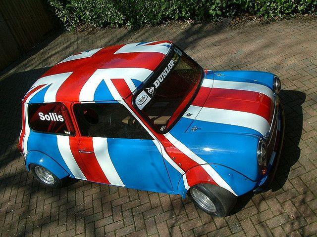 #carwrapping #wrap #vehicle #Inspiration #vehiclewrap #Autobeklebung #Autofolierung #Folie #Design #Unionjack #GB