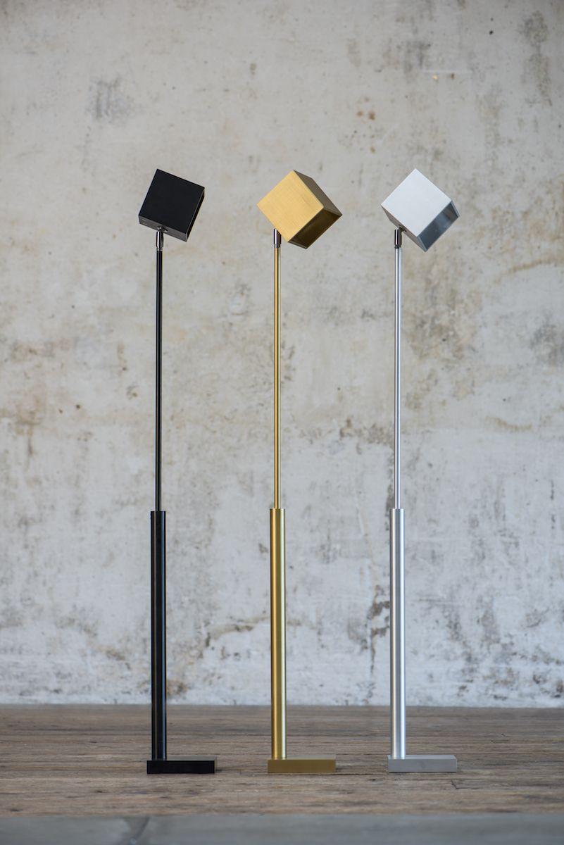 Hisle Cube Cordless Floor Reading Lamp