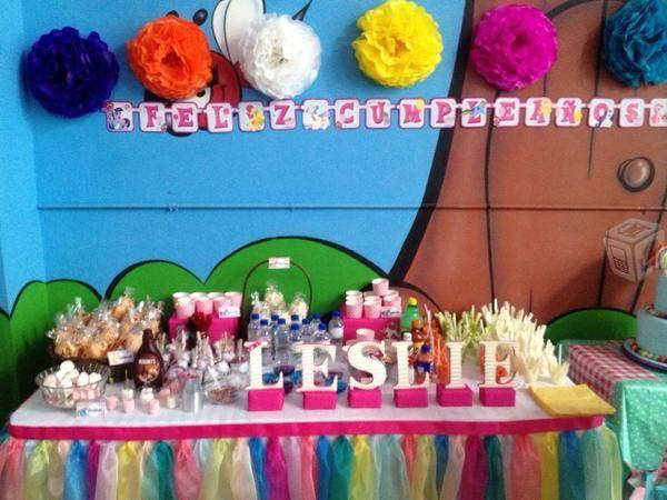 Mesa de dulces my little pony ponys pinterest mesa - Decoracion mesas fiestas ...