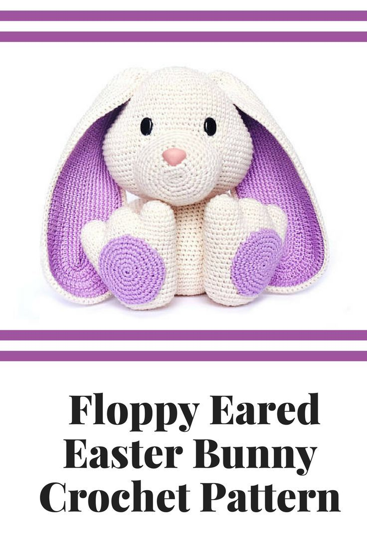 This floppy eared easter bunny would be so fun to display for easter ...