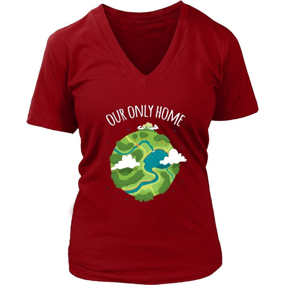 Ecology T Shirt - Our Only Home