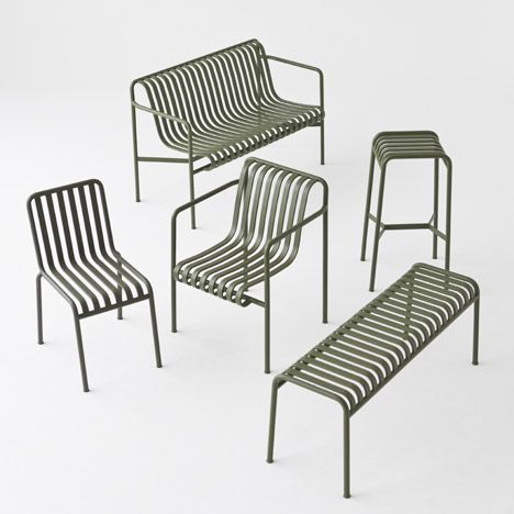 French Designers Ronan And Erwan Bouroullec Have Created A Range Of Outdoor  Furniture For Danish Brand