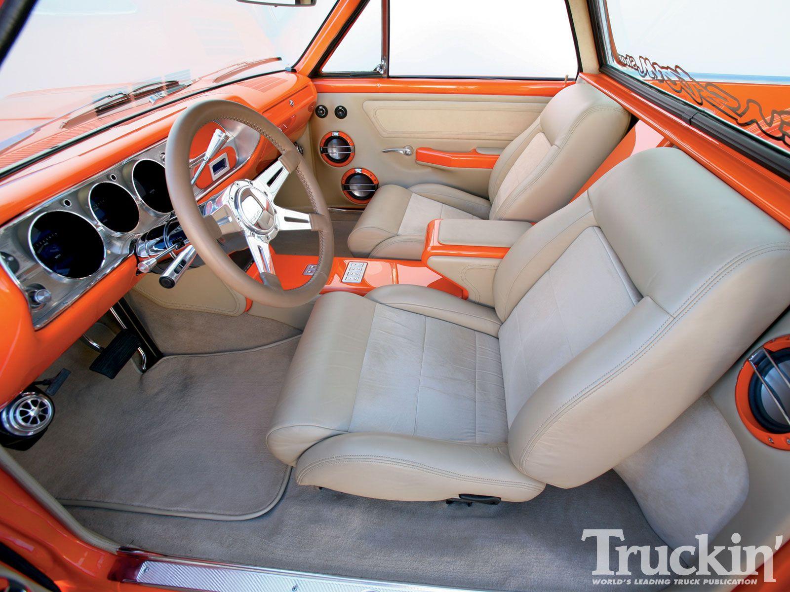 Car interior paint job - 1965 Chevy El Camino Interior Large