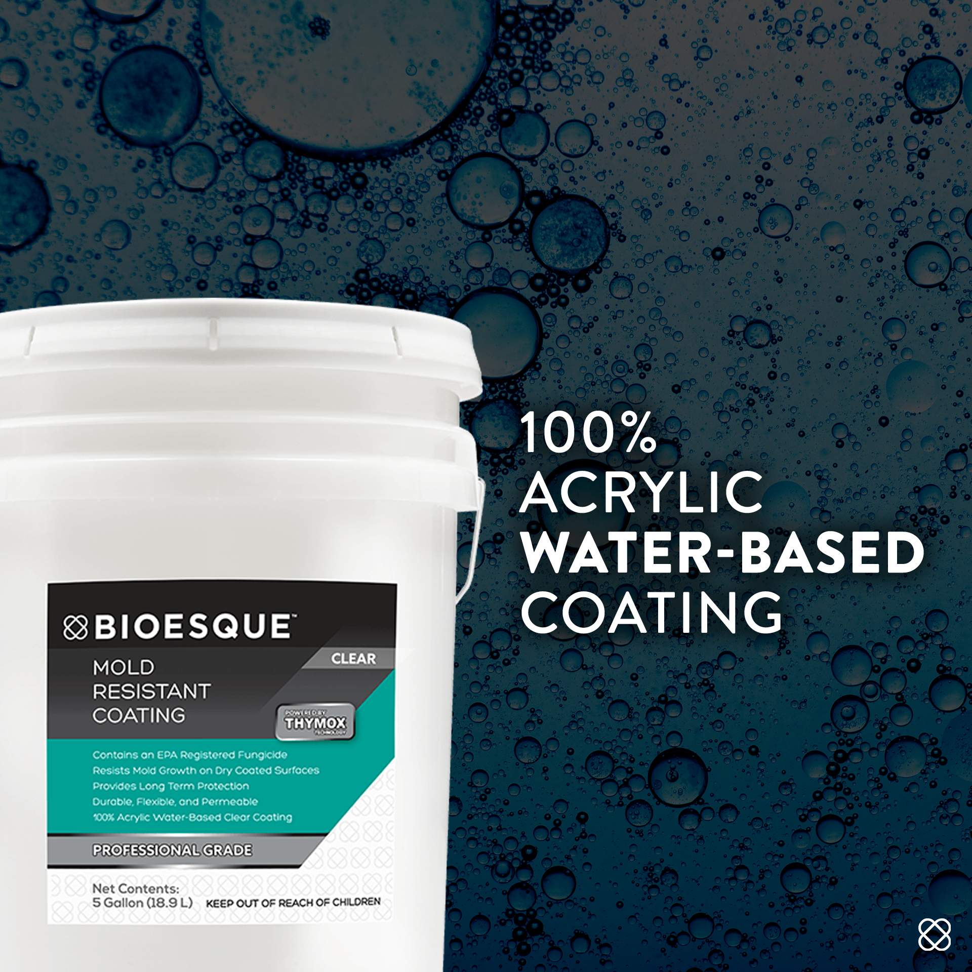 Bioesque Mold Resistant Coating Is A Superior Choice In Cleaning Products For The Restoration Industry