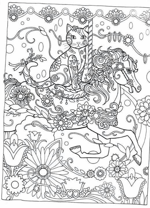 Creative Cats Colouring Book I Marjorie Sarnat | ✐Adult Colouring ...