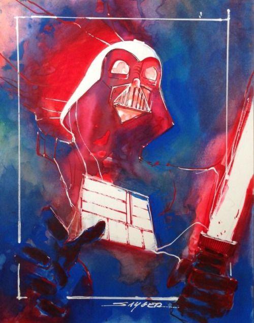 Darth Vader by Stuart Sayger