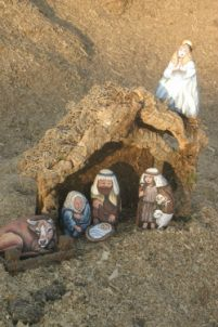 Painted Rock Nativity!