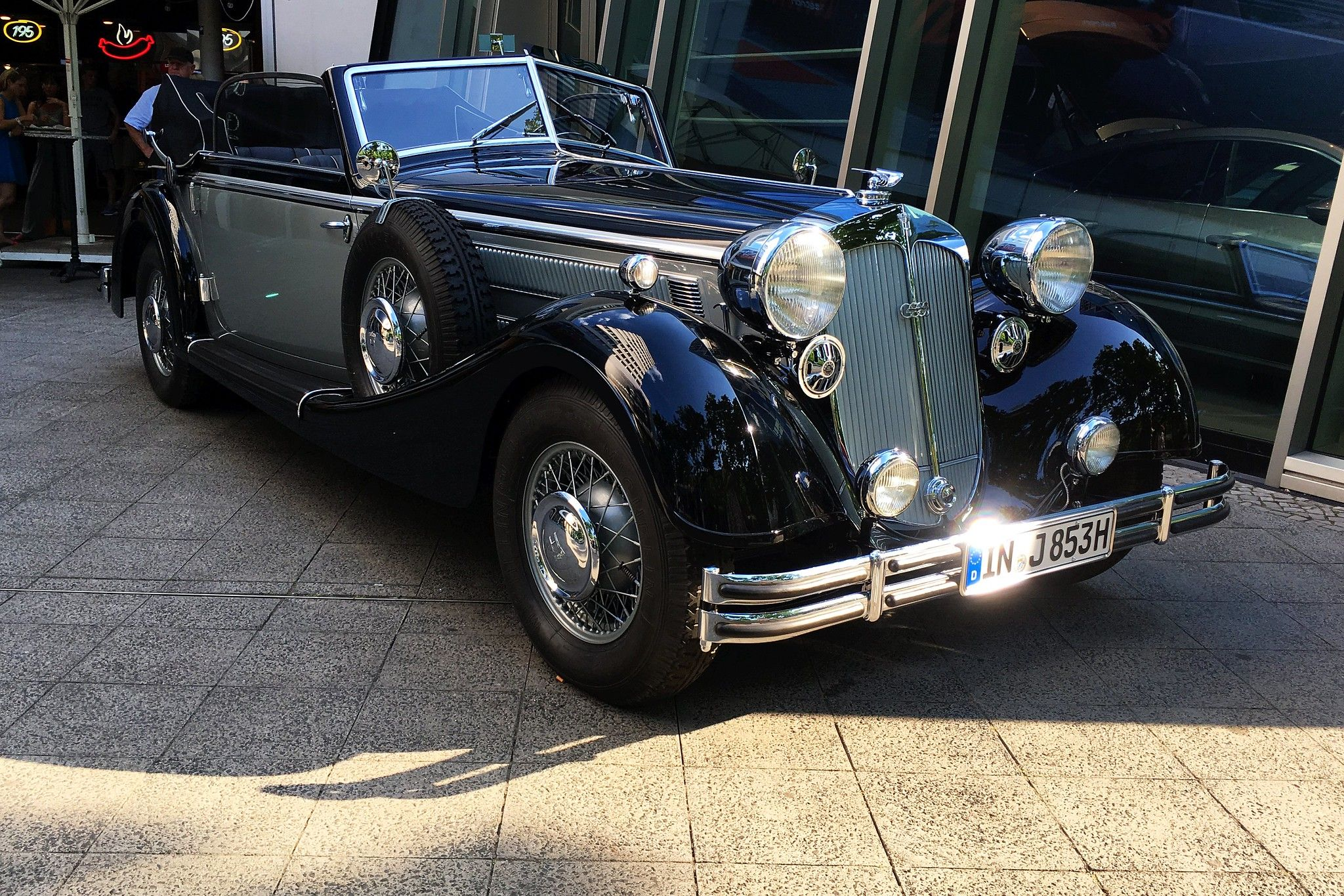 Horch 853 Convertible