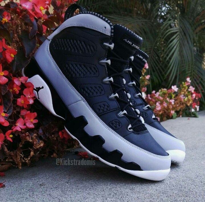 cb6aa909917a69 These are so cold!!!! Custom air jordan 9s Dark Barons!!!!