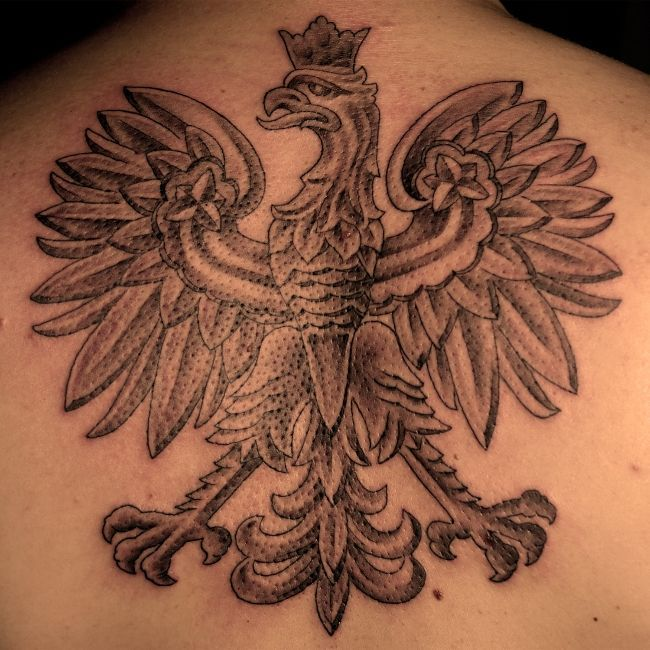 578450c3bfc0e Polish Eagle Tattoo Meaning tattoo on pinterest eagle tattoos polish ...