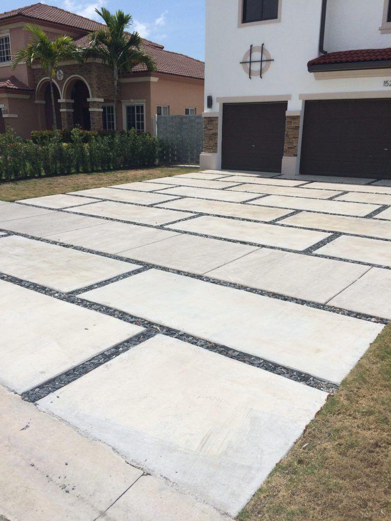 Concrete Pads For Driveway Cricket Pavers Concrete Pad Pavers