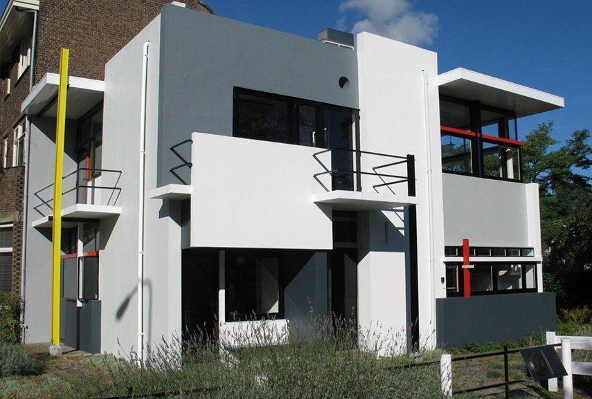'De Stijl' (the style) architecture: the only building to ... De Stijl Architecture