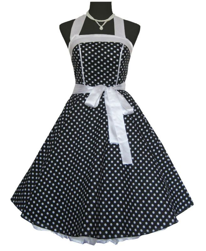 Polka Dot Rockabilly Dress