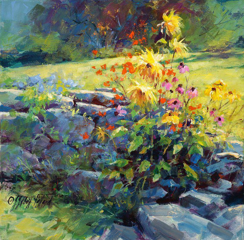 Julie Gilbert Pollard Together We Make Memories Landscape