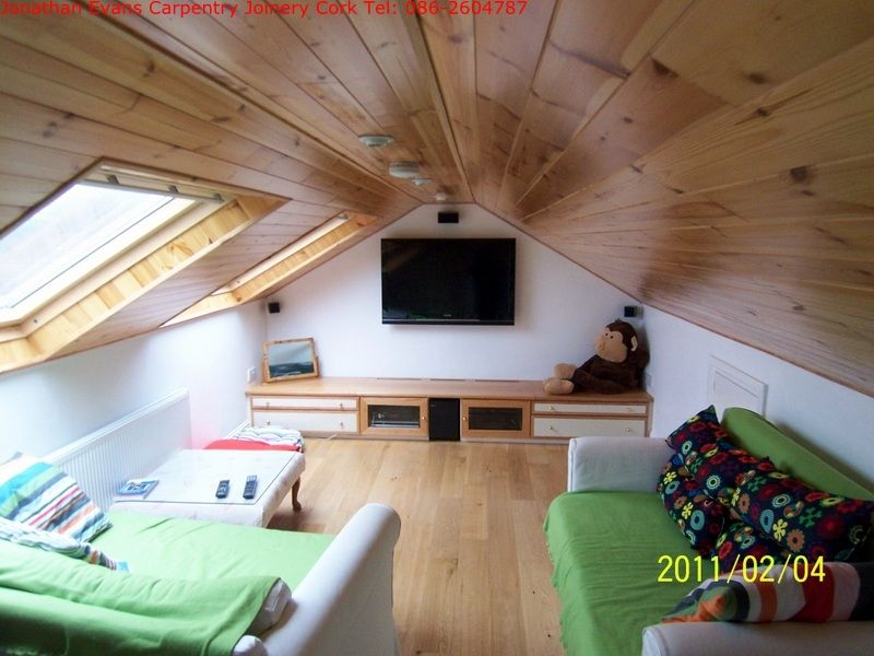 Attic Play Room Conversions Cork With Jonathan Evans Carpentry Joinery Tel 086