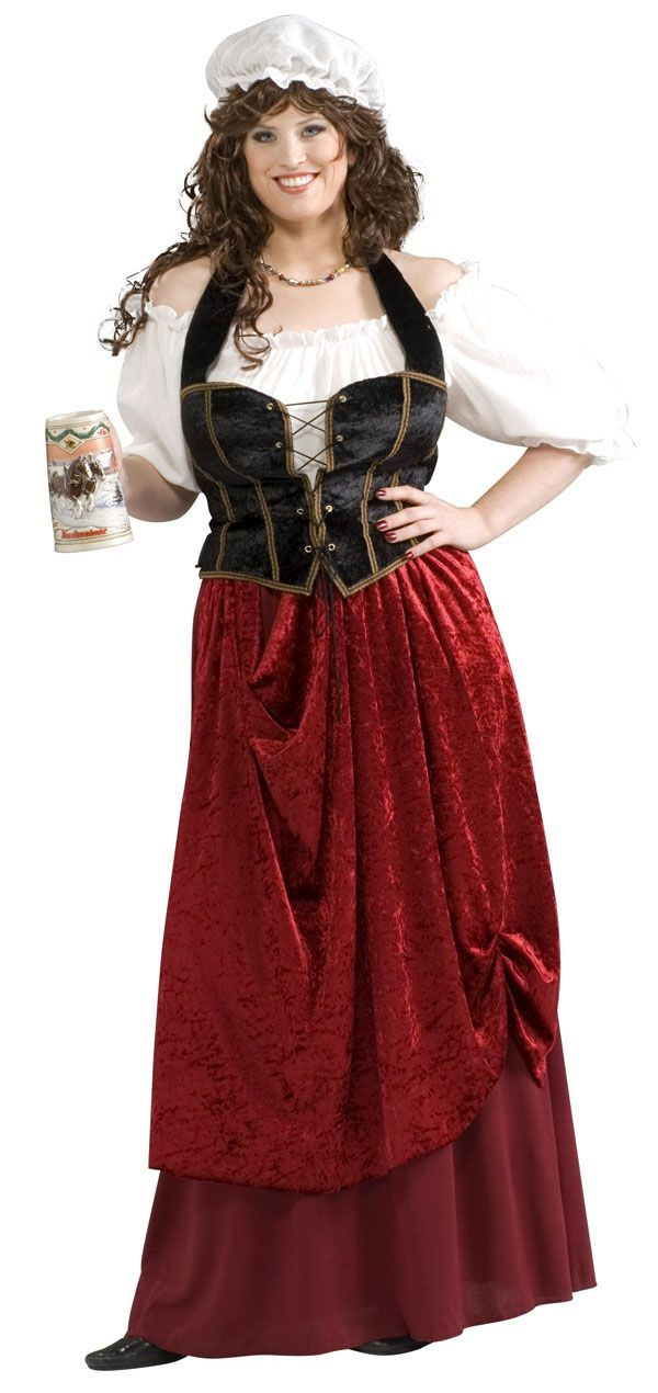 24a1d2a5059 Plus Size Tavern Wench Costume - Medieval or Renaissance Costumes ...
