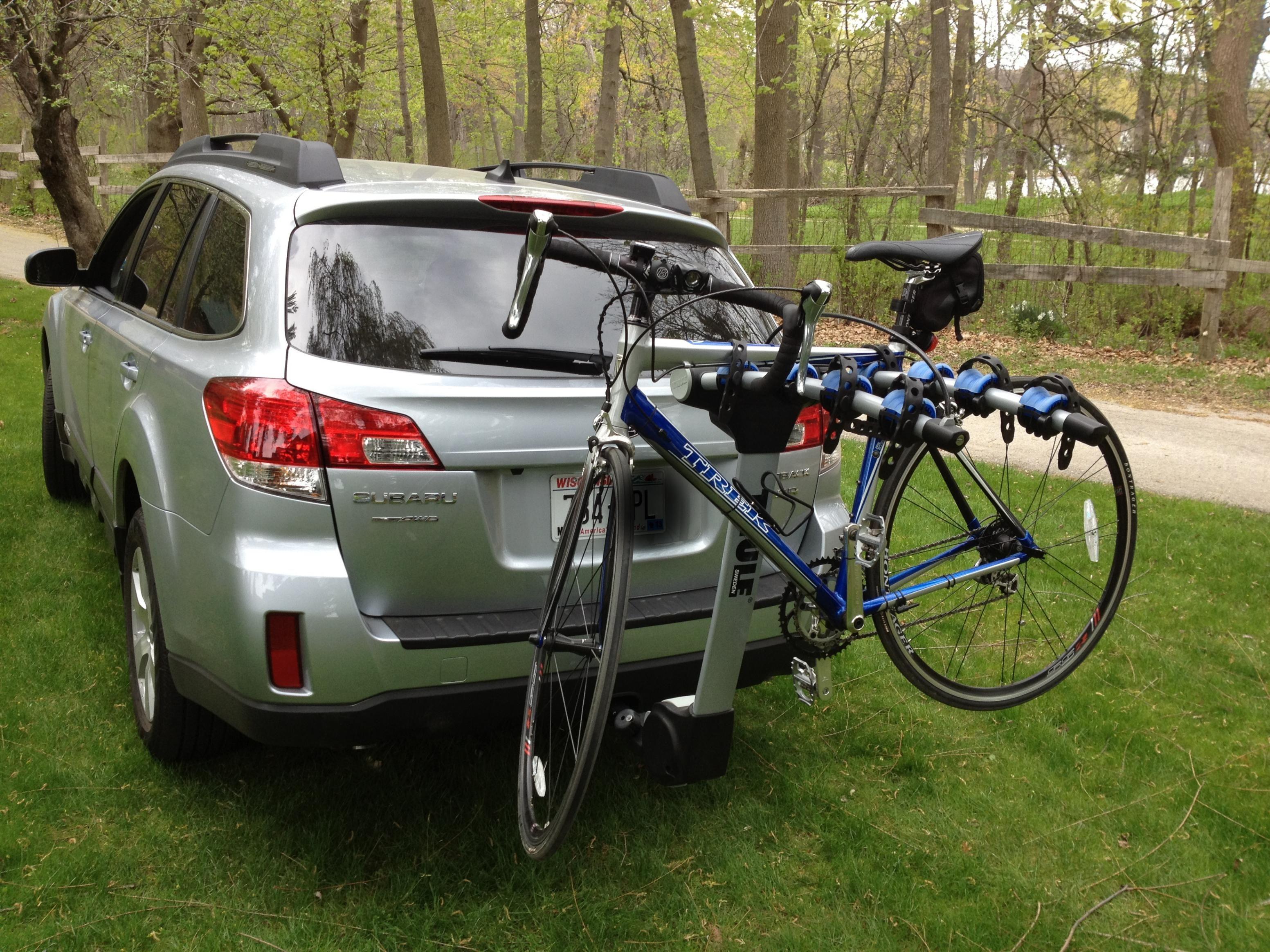 Subaru Outback Bike Rack Inspirations for Car Behind bike