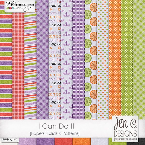 I Can Do It: Papers