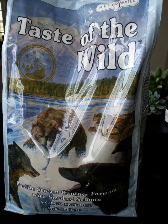 Taste Of The Wild Salmon Formula For Dog S Coat Best Dog Food Out