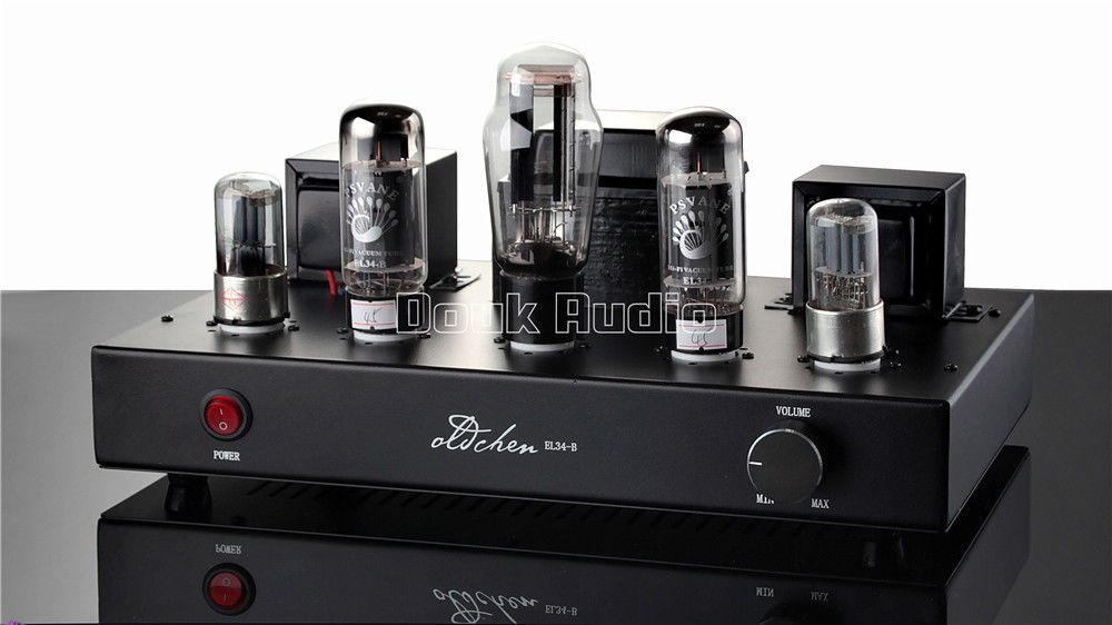 Douk Audio EL34 Vacuum Tube Amplifier HiFi Stereo Single