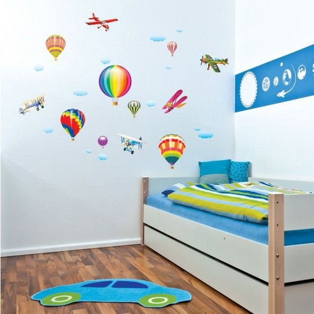 stickers chambre b b et enfant id es pour les gar ons. Black Bedroom Furniture Sets. Home Design Ideas