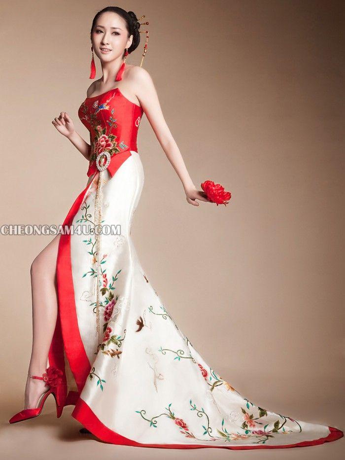 Chinese Qipao Wedding Dress