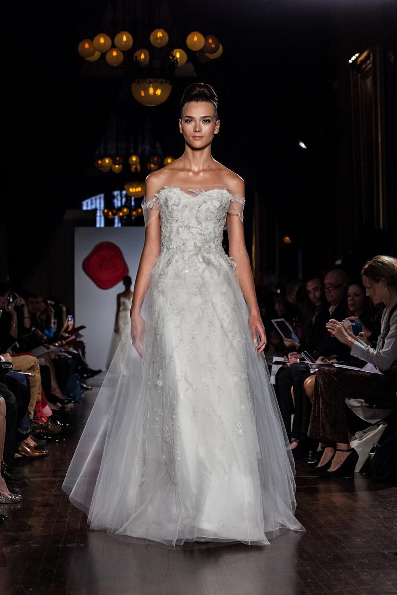 project runway stars with bridal lines | Wedding dress, Gowns and ...