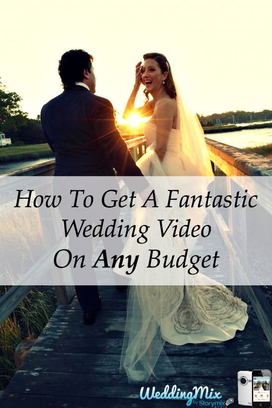 Every couple can now afford a beautiful wedding video! Use the @WeddingMix app and HD cameras to collect every guest photo & video. Then pro-editors turn your favorite moments into a fantastically fun, affordable wedding video! Perfect for any wedding budget. Check your wedding date for reserve availability.