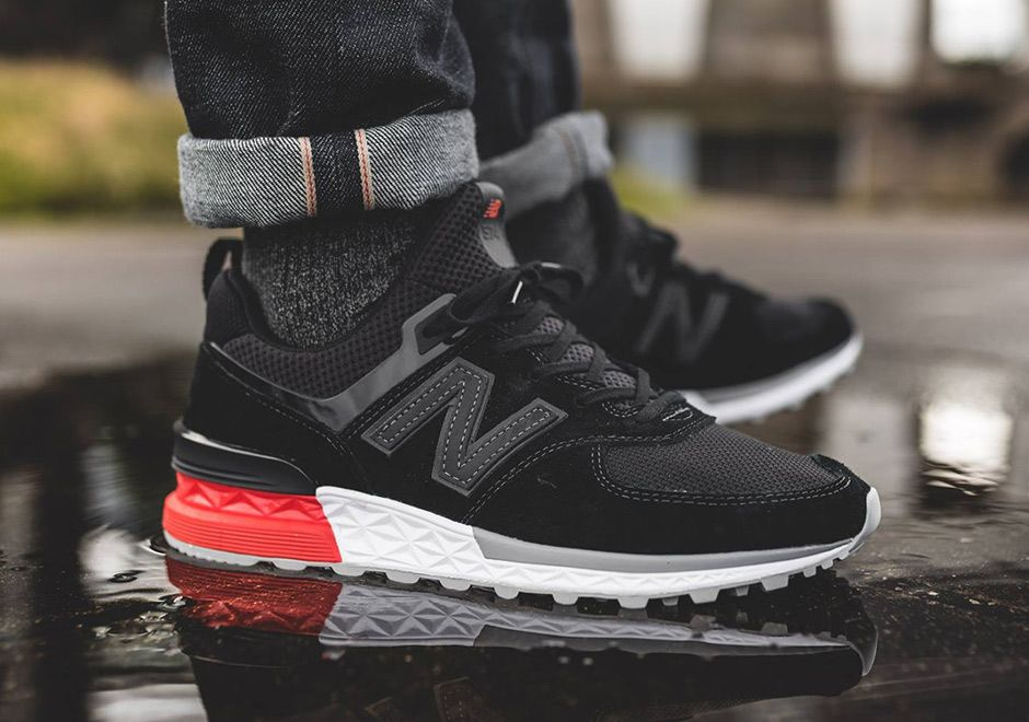 new balance 574 sport triple black