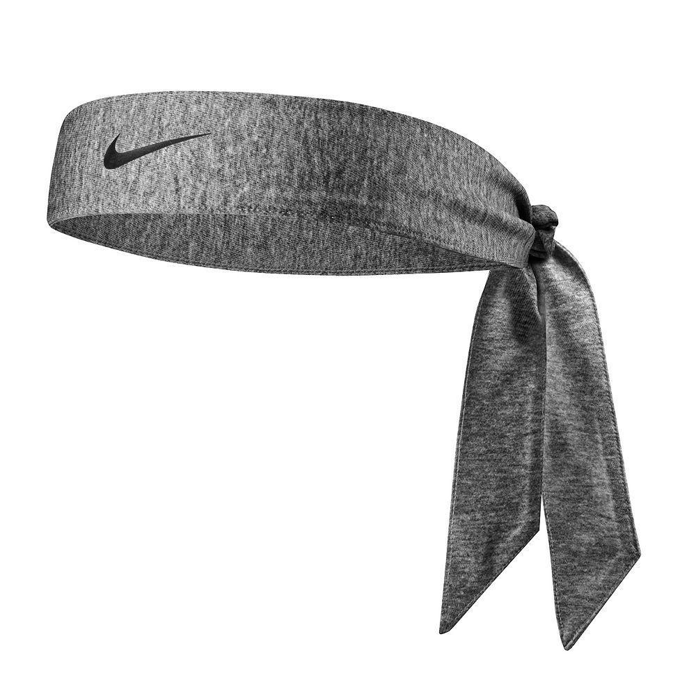 Faixa Cabelo Nike Dri Fit Head Tie 2.0 Branco e Preto