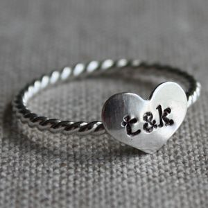 True Love Ring from Amy Cornwell - $27.50. So pretty!  :)