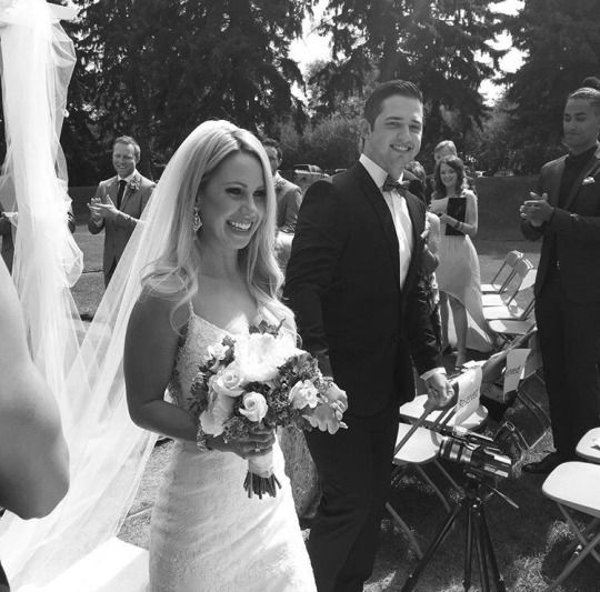 Nhlhockeywags Congrats To Linea Ruszkowski Dustin Tokarski On Their Marriage Wife And Girlfriend Strapless Wedding Dress Wedding Dresses