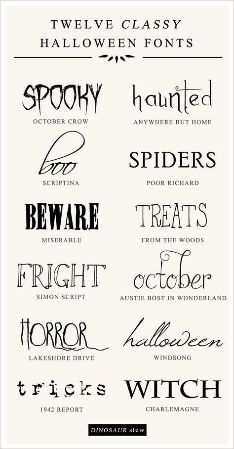 free halloween schriftarten # 4