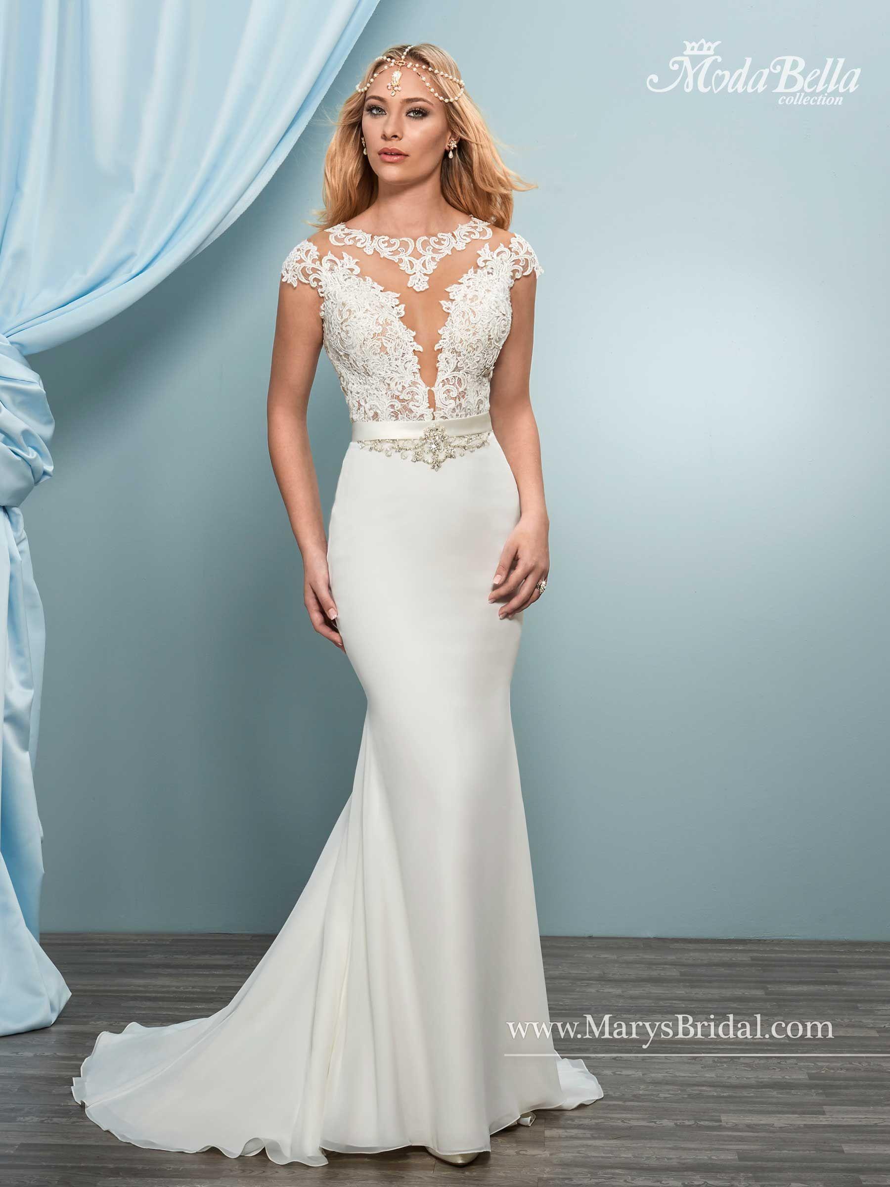 Bridal Gowns - Moda Bella - Style: 3Y646 | Mermaid Wedding Gowns ...