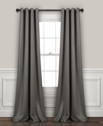 Lush Decor Blackout Curtain Sets Reviews Window Treatments