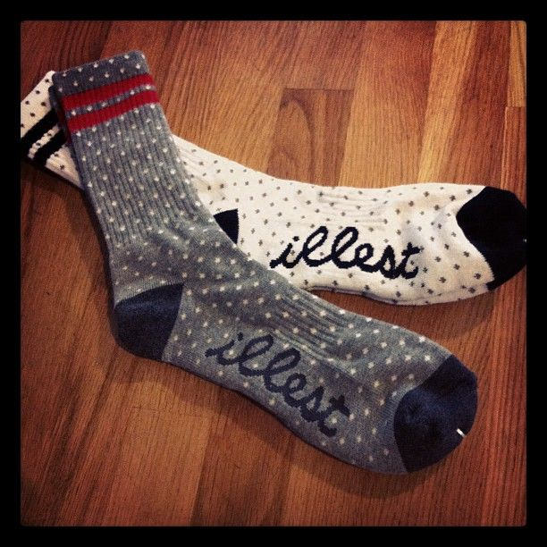 The illest socks ever, so cute!