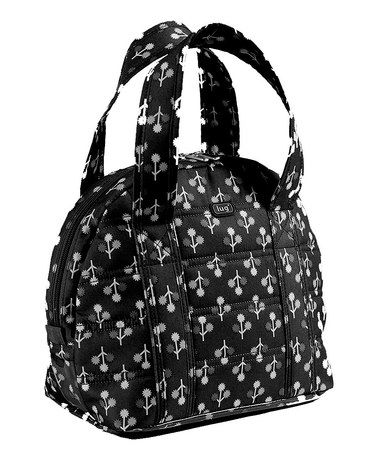 Another great find on #zulily! Midnight Black Orchard Lunch Tote #zulilyfinds